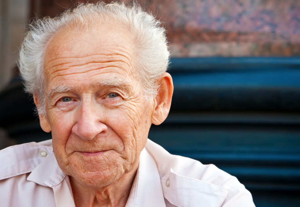 Greystone Cheerful Senior Man senior living